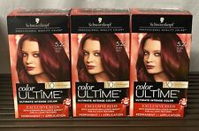 3-Schwarzkopf Color Ultime EXCLUSIVE REDS #5.22 Ruby Red Permanent Hair Color
