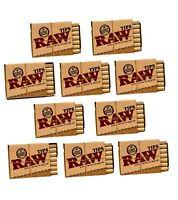 Raw Pre Arrotolato Filtri - Taglio Naturale Liscio Fumo Roaches - Stesso Giorno