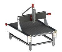 Bauplan CNC Fräsmaschine CNC router plans CNC mill plans