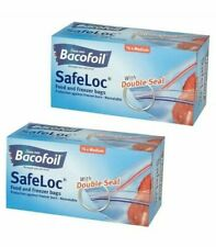 Bacofoil Safeloc Food and Freezer Medium Bags, 1 Pack (76pc )