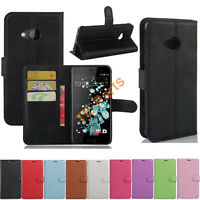 Wallet Leather Slot Stand Flip Cover Skin Case For HTC One A9S Desire 10 Pro 650