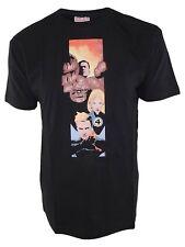 hobby&work tshirt uomo nero marvel official product fantastic four taglia large