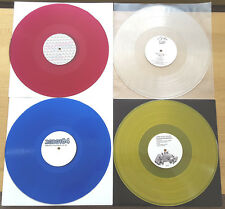 "DEEP HOUSE & DISCO COLOURED VINYL 12"" JOB LOT RECORD COLLECTION BUNDLE NEW CRAFT"