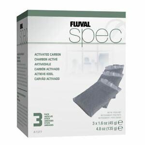 Fluval Evo/Spec/Flex Activated Carbon (3 Pack) Replacement Media *Genuine*