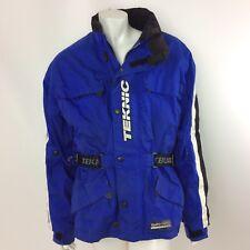 Teknic Hydro Guard Mens Motorcycle Jacket Size 42/52 Detachable Vest Bike