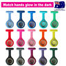 Nurse Watch FOB Silicone Case Pocket Brooch Pin Watch for Pouch Bag Colour Face