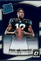 2017 Donruss Optic Football Dede Westbrook Rated Rookie RC Jaguars