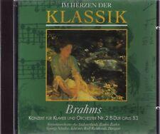Brahms |  KLAVIERKONZERT NR. 2 B-Dur | CD-Album,  gebraucht