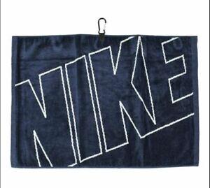 New Nike Golf- Jacquard Towel Midnight Navy/Gray