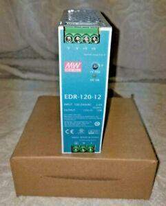 MEAN WELL EDR-120-12 SINGLE OUTPUT DIN RAIL POWER SUPPLY 12V 10 AMP 120W