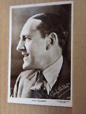 Film Star postcard Jack Hulbert Gaumont British Pictures Real Photo unposted