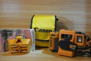 Canon AS-6 Aqua Snappy Underwater Waterproof Diving 35mm Film Camera