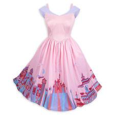 Disney Parks Disneyland The Dress Shop Fantasyland Attraction Pink Dress Size Xs