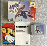N64 1080 Snowboarding Nintendo 64 Cartridge In Box Cleaned & TESTED Fast Ship!