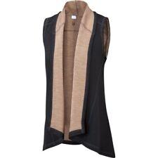 Ibex - Dyad Shawl Vest black/camel