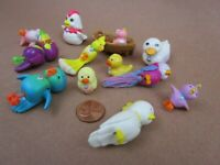 Vintage 1992 Kenner LPS Littlest Pet Shop Mixed Lot, 12 Exotic & Domestic Birds