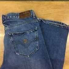 Tommy Hilfiger Men's 36x31 Denim Distressed Blue Jeans -A720