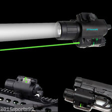 "Tactical Combo Led Flashlight Green Laser Sight rail 78/"" fit for Pistol/Glock"