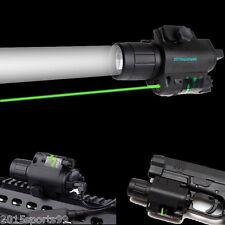 "9Tactical Combo Led Flashlight Green Laser Sight rail 78/"" fit for Pistol/Glock"