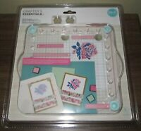 Crafter's Essentials ~ We R Memory Keepers ~ Precision Press Advanced, Stamping