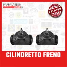PAIR FRONT BRAKE CYLINDER FIAT 500 C  TOPOLINO cilindretti freno anteriore
