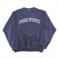 Vintage CLASSIC SOFFE Penn State Blue College Crew Neck Sweatshirt Mens L