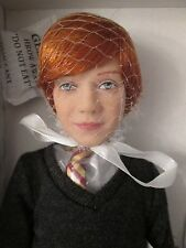 """12"""" Ron Weasley Tonner Collector Doll NRFB 2010 Harry Potter Character Figure"""