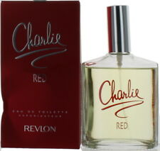 Charlie Red by Revlon for Women EDT Perfume Spray 3.4 oz Damaged Box