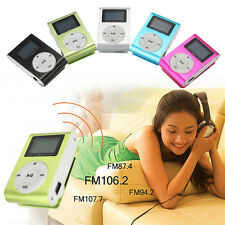 Mini USB Clip MP3 Music Media Player LCD Screen Support 32GB Micro SD TF Card US