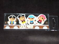 4 LITTLE PIRATE RUBBERS -  BIRTHDAY PARTY