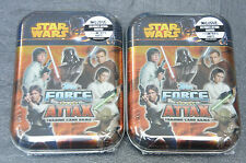 Topps Force Attax Movie Serie 3 Mini Tin Box 2 Stück Sammeldose OVP Star Wars