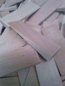 100-Holzkeile-Hartholz-140x60x18mm