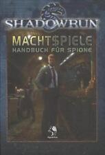 Shadowrun: Machtspiele: Handbuch für Spione (2013, Gebunden) - verschweißt