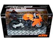 AUTOMAXX 600601OR KTM 1190 RC8 BIKE MOTORCYCLE 1/12 ORANGE