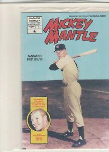 Baseball's Greatest Heroes Mickey Mantle #1 Dec 1991 Magnum Comics NM Sinnott