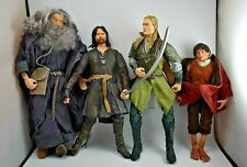 Lord Of The Rings 2001-03 Action Figures 12� Legolas/Aragorn/Gandal/9& #034; Frodo