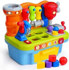 Musical Learning Workbench Toddler Toys for Boys Girls Kid Baby Early Education