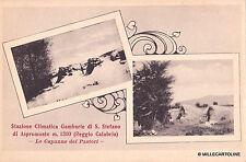 GAMBARIE DI S. STEFANO DI ASPROMONTE - Le capanne dei pastori 1934