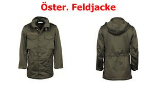 Original Öster. Armee Feldjacke, M65 Parka  Neu/ Neuwertig