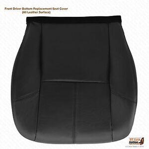 2007 2008 2009 2010 GMC Yukon Denali Driver Side Bottom Leather Seat Cover Black