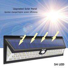 54 LED Solar Waterproof Lamp Camper Trailer RV Exterior Lights Security Light US