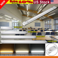 1FT/2FT/3FT/4FT LED Batten Linear Tube Light Ceiling Lighting Cool White 110V