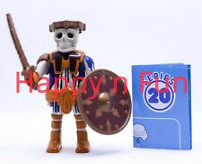 Playmobil ® Guerrier Squelette / Skeleton warrior Série 20  - Neuf - New - nuevo