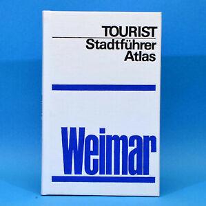 Weimar | Tourist Stadtführer Atlas | Touristverlag | 1979 DDR