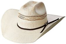 Twister Mens Bangora Straw Cowboy Hat Natural 7 1/8