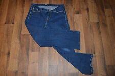 LEVIS Womens Size 31x28 Curvy Bootcut Casual Outdoor Denim Jeans Pants Blue
