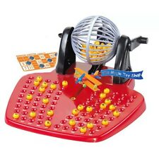 Bingo Lotto Traditional Family Game Play Set Balls Xmas Bday Kid Gift UK SELLER