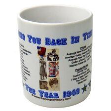 1949 Year In History Coffee Mug Includes Gift Box Born In 1949 Birthday Gift