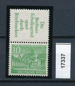 17337) Perfekt: Berlin Zd S 6 einwandfrei postfrisch ** + gepr. BPP (KW 90,00 !)