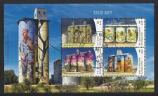 AUSTRALIA 2018 SILO ART MINIATURE SHEET  FINE USED